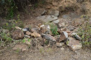 The Water Project:  Rocks Gathered For Construction