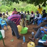 The Water Project: Mbiuni Community A -  Soapmaking