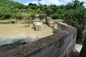 The Water Project:  Dam And Well