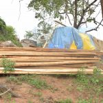 The Water Project: Kathuli Community -  Construction Materials