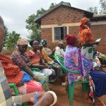 The Water Project: Kathuli Community -  Members At The Training
