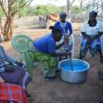 The Water Project: Tulimani Community A -  Mixing Soap