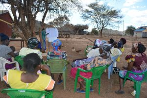 The Water Project:  People Listen At Training