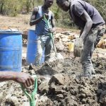 The Water Project: Kala Community C -  Mixing Cement