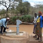 The Water Project: Kala Community C -  Water From Well