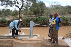 The Water Project:  Water From Well