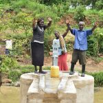 The Water Project: Mbiuni Community A -  Celebrating The New Well