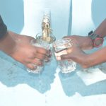 The Water Project: Kiundwani Secondary School -  Filling Up Glasses With Water At The Tank