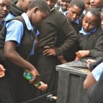 The Water Project: Kiundwani Secondary School -  Handwashing With Soap At The Training
