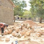 The Water Project: Kiundwani Secondary School -  Locally Provided Materials