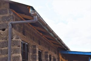 The Water Project:  New Guttering For The Tank