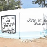 The Water Project: Kiundwani Secondary School -  Painted Tank