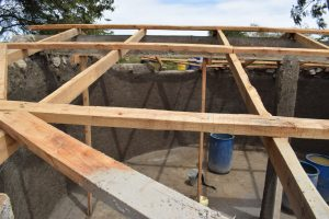 The Water Project:  Roofing For Tank