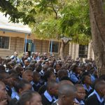 The Water Project: Kiundwani Secondary School -  Students Listen At The Training