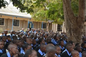 The Water Project:  Students Listen At The Training