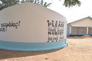 The Water Project:  Tank At School Grounds