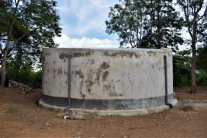 The Water Project:  Tank Cement Work Complete