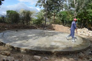 The Water Project:  Tank Construction Begins
