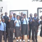 The Water Project: Kiundwani Secondary School -  Thumbs Up For The Tank