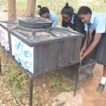 The Water Project: Kiundwani Secondary School -  Using The Handwashing Station