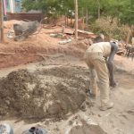 The Water Project: Katalwa Secondary School -  Cement Preperation