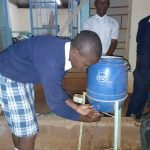 The Water Project: Katalwa Secondary School -  Handwashing Demonstration