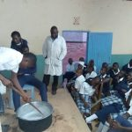 The Water Project: Katalwa Secondary School -  Mixing Soap