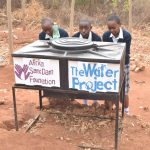 The Water Project: Katalwa Secondary School -  New Handwashing Station