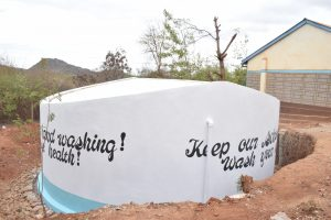 The Water Project:  Painted Tank
