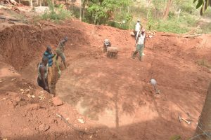 The Water Project:  Preparing Ground For Tank