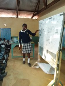 The Water Project:  Student Contributes To The Training