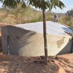 The Water Project: Katalwa Secondary School -  Tank Construction Complete