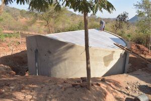 The Water Project:  Tank Construction Complete