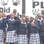 The Water Project: Katalwa Secondary School -  Thumbs Up