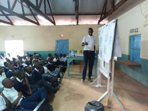The Water Project:  Trainer Teaches The Students