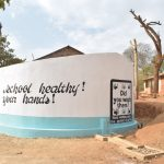 The Water Project: Kwa Kyelu Primary School -  Completed And Painted Tank