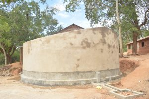 The Water Project:  Completed Tank Construction