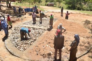 The Water Project:  Construction Phase One
