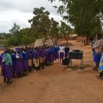 The Water Project: Kwa Kyelu Primary School -  Handwashing Demonstration