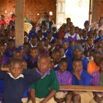 The Water Project: Kwa Kyelu Primary School -  Students At The Hygiene And Sanitation Training