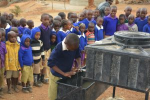 The Water Project:  Students Participate In A Handwashing Demonstration