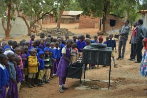 The Water Project:  Students Practice Proper Handwashing