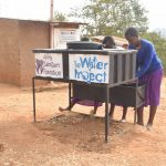 The Water Project: Kwa Kyelu Primary School -  Using The Handwashing Station