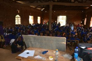 The Water Project:  View Of The Students At The Training