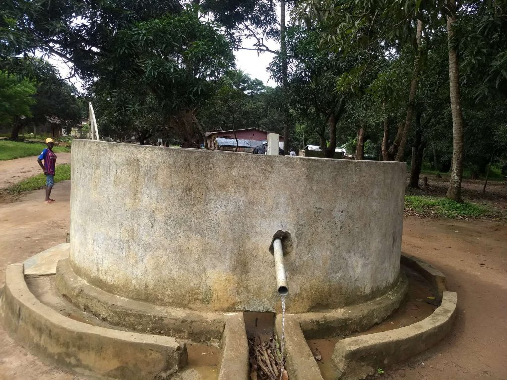 The Water Project : sierraleone18280-well-a-year-later