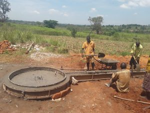 The Water Project:  Cement Work