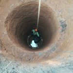 The Water Project: Nyakasenyi Byebega Community -  Digging Out Well