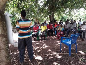 The Water Project:  Leading The Training