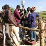 The Water Project: Nyakasenyi Byebega Community -  Pump Installation