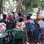 The Water Project: Nyakasenyi Byebega Community -  Shg Members Listen During The Training
